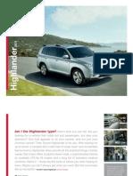 2011 Toyota Highlander - Don Ringler Houston Dealer