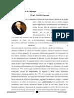 APLICACIONES DEL MÉTODO DE LAGRANGE Y OPTIMIZACIÓN DE FUNCIONES