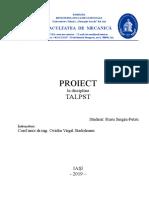 Proiect Talpst