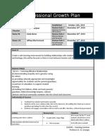 diego menjivar - professional growth plan