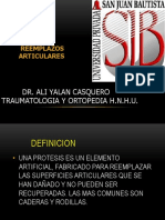 Protesis y Artrodesis