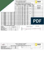 7. Dosificación H 21 Tipo a 350 Cemento IP 30