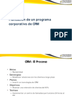 Programa CRM