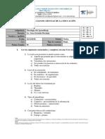 Psicología Del Aprendizaje 12-12-19