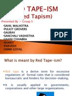Red Tapism