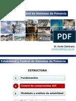 UNIDAD 2 -CONTROL DE COMPONENTS SEP - ESTABILIDAD Y CONTROL DE SISTEMAS DE POTENCIA
