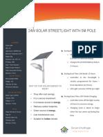 24W Streetlight