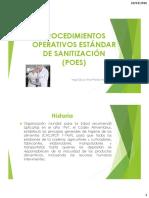 Procedimientos Operativos Estandar de Sanitizacion Ssop