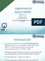 3.1. CSS 2.1