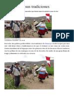 Huancayo y Sus Tradiciones