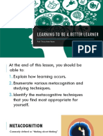 Learning to Be a Better Learner (1)