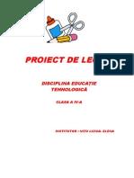 Abilitati practice- proiect de lectie