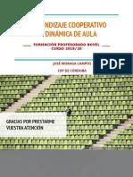 APRENDIZAJE COOPERATIVO  Y DINÁMICA DE AULA