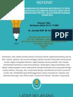 GAMBARAN KECEMASAN MASYARAKAT DI DESA WAWORAHA KECAMATAN SOROPIA SEBELUM PEMBANGUNAN PROYEK JALAN KENDARI-KONAWE TAHUN 2019.pptx
