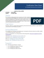 ASE HP Blade System Solutions 2010 EUS v1