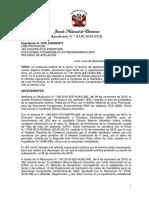 JNE declara improcedente lista de candidatos de Todos por el Perú