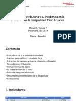 Impuestos y Desigualdad en Ecuador(1)
