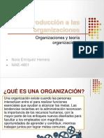 Introducción a Las Organizaciones
