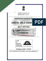 8-Maintenance handbook on Digital Axle Counter (Multi Section).pdf