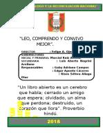 Plan Lector Inicial Primaria Secundaria_2018