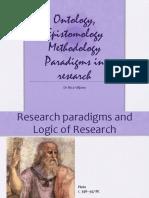 17 Da vinci presentation - ontology epistemology rica viljoen