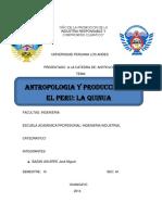 ANTROPOOGIA QUINUA