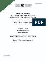 danish IB 2001
