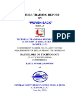 Summer Training Report by Rahul Cipet