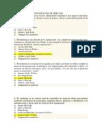 Temas de Examen Investigaciòn de Mercado