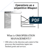 MANAGING THE OPERATIONS