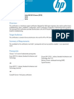 APS HP ProLiant ML DL SL Servers 2010 EUS v1