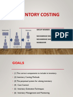 Inventory Costing Power Point Presentation