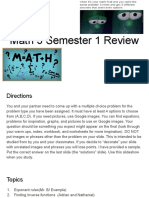 period 6 copy of math 3 semester 1 final review slideshow