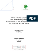 Adding Value to Organic Milk Production Systems With DP Breeds
