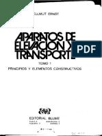 Aparatos de elevación y transporte continuo - Tomo 1 - Hellmut Ernst.pdf · versión 1