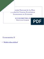 Teoría econometría 2
