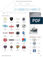 All Car Brands, Companies & Manufacturer Logos With Names1-7