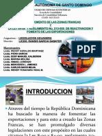 FOMENTO DE ZONAS FRANCAS