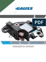 Gauss Catalogo Aplicações Reguladores de Voltagem 2019