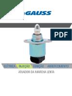 Gauss Catalogo Aplicações Atuador de Macha Lenta 2019
