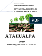 PLAN AMBIENTAL  de la ie.b 31956 ATAHUALPA