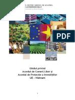 Ghid Acord de Comerț Liber Și Acord Privind Protecția Investițiilor UE Vietnam