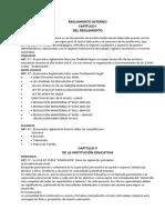 REGLAMENTO INTERNO  DE LA I.E.Nº31956