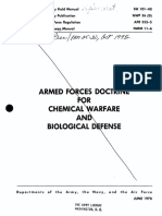 FM 101-40 Armed Forces Doctrine for Chemical Warfare and Biological Defense (1976)