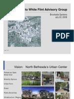 Presentation to White Flint Advisory Group - Brookside Gardens (July 22, 2008)