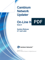 Network Update Ron Line Help