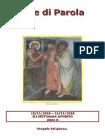 Sete di Parola - III Settimana Avvento - A.doc