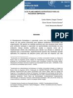 A IMPORTÂNCIA DO PLANEJAMENTO ESTRATÉGICO PARA AS MICROEMPRESAS