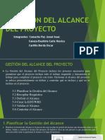 GESTIÓN DE ALCANCE DEL PROYECTO-PIC-CAP5