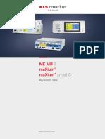 ME MB 3 MaXium Smart C MaXium Accessory Sets